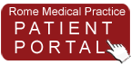 Rome Medical Practice Patient Portal Button